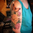 butterfly tattoo, roses, rose, floral, vegan ink, vegan tattoo, female artist, amanda, amanda stiehls, colby, phoebe aceto, phoebe, carol oddy, amy jiao, ithaca, cortland, auburn, syracuse, collegetown, college town, the best tattoos, tattoo ideas, unique tattoo ideas, unique tattoos, the best tattoo shop, the best tattoo shops near me, pretty tattoos, watercolor, watercolour, blackwork, black work, traditional, shoulder piece, back piece, arm tattoo, hand tattoo, portrait, illustrative, mandala, geometric, 3d, realism, traditional, piercing, piercings, tattooing, black dragon, black dragon tattoo, black dragon tattoo company, tara morgan, tattoos by tara, flowers, tattoo studio, body art, simple tattoos, minimalist tattoos, crystals, healing crystal tattoos, flower tattoo ideas, healing crystals, mystical tattoos, tattoo studios near me, microblading, josh payne, medusa tattoo, steihls, ink masters, gallery, art, custom tattoos, hand of fate, sacred art, ascend gallery, tattoo shops around ithaca, cortland tattoo shops, cortland tattoo studio, woman tattoo artist, botanical tattoo, floral tattoo, nature tattoo